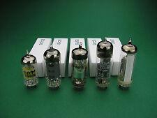Röhrensatz ECC85 ECH81 EBF89  ECL86 EM87 Tube set NOS -  Röhren für Röhrenradio