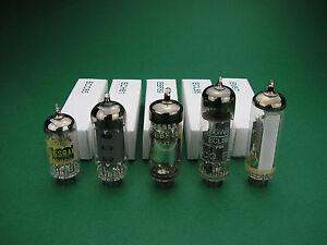 Röhrensatz ECC85 ECH81 EBF89  ECL86 EM87 Tube set NOS -> Röhren für Röhrenradio