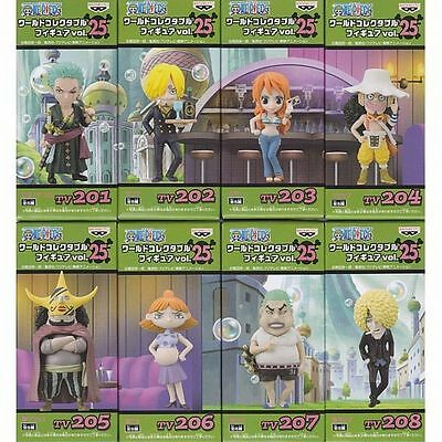 ONE PIECE WCF World Collectable Figure vol.25  8 set