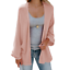 Women-039-s-Open-Front-Sweater-Long-Sleeve-Cardigan-Loose-Jacket-Coat-Tops-Black thumbnail 18