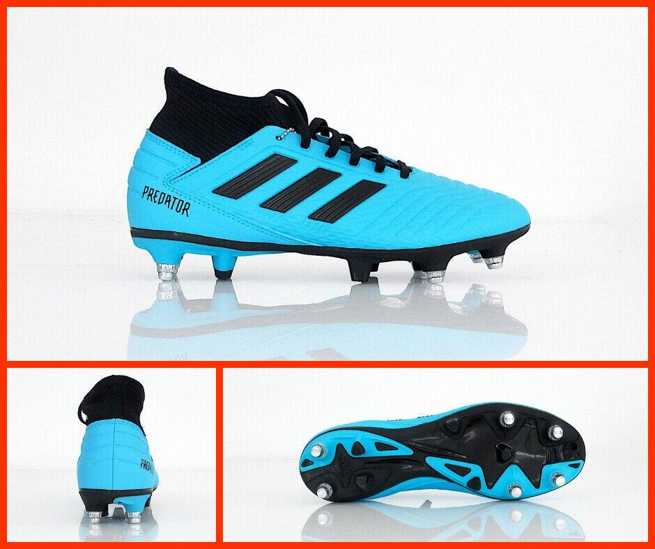 ADIDAS scarpe calcio ProssoATOR 19.3 SG EF8033 col. CIANONERO agosto 2019
