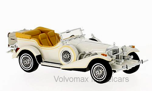 Wonderful NEO-modelcar EXCALIBUR SERIES III PHAETON 1977 - bianca - 1 43