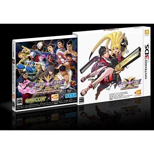Used 3DS PROJECT X ZONE 2: BRAVE NEW WORLD Original sound edition Import Japan