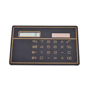 1x-Mini-Slim-Credit-Card-Solar-Power-Pocket-Calculator-Novelty-Small-Travel-FE