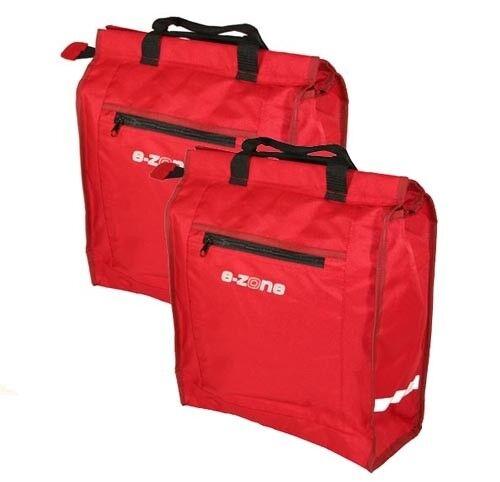 E-Zone 2x portaequipajes bolsillos bolsa bolsa bolsa de compras lluvia  buen precio