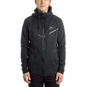 a711af4c6f9 Image is loading 805144-010-Nike-Sportswear-Tech-Fleece-Windrunner-Men-