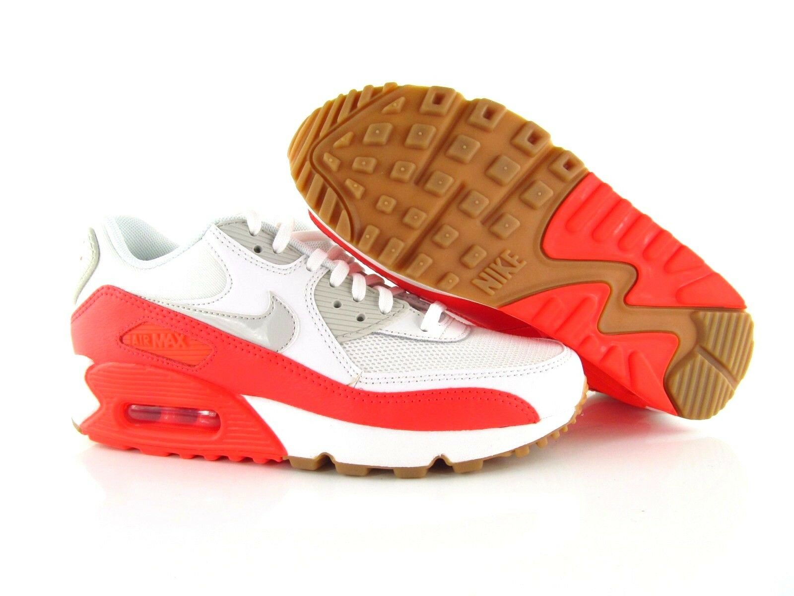 Nike Air Max 90 Essential blanc 1 rouge us_6 uk_3.5 EUR 36.5