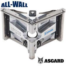 Asgard Drywall Taping Tool 3 Angle Head Corner Finisher Pro Grade 5 Yr Warranty