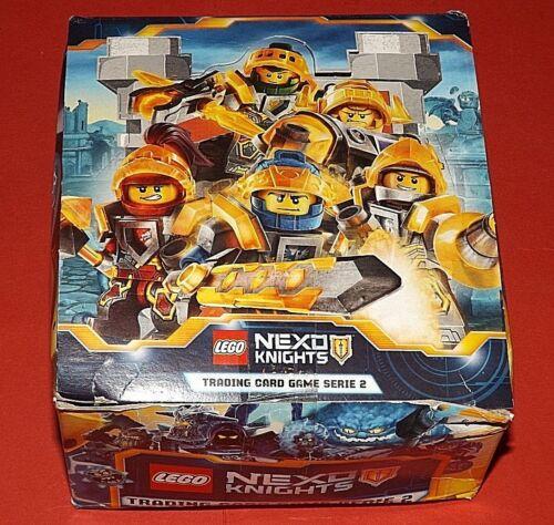 LEGO NEXO KNIGHTS Serie 2 Display Trading Card Game 50 Booster  ungeöffnet