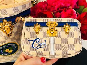 30181b748b53 Image is loading CAPRI-MINI-POCHETTE-ACCESSORIES-Louis-Vuitton-Summer-Trunk-