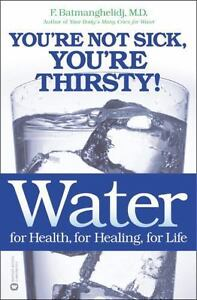Water-For-Health-for-Healing-for-Life-You-039-re-Not-Sick-You-039-re-Thirsty-by-B