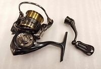 Daiwa Exist Spinning Fishing Reel, 2-3 Lb, 4.8:1 Black - Exist102
