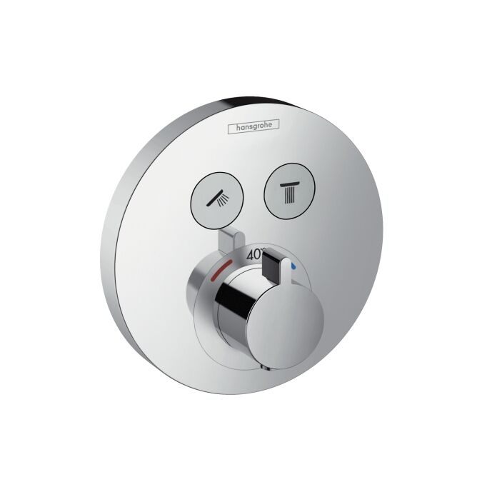 Hansgrohe ShowerSelect Unterputz Thermostat 15743000 , 15743, chrom, Select