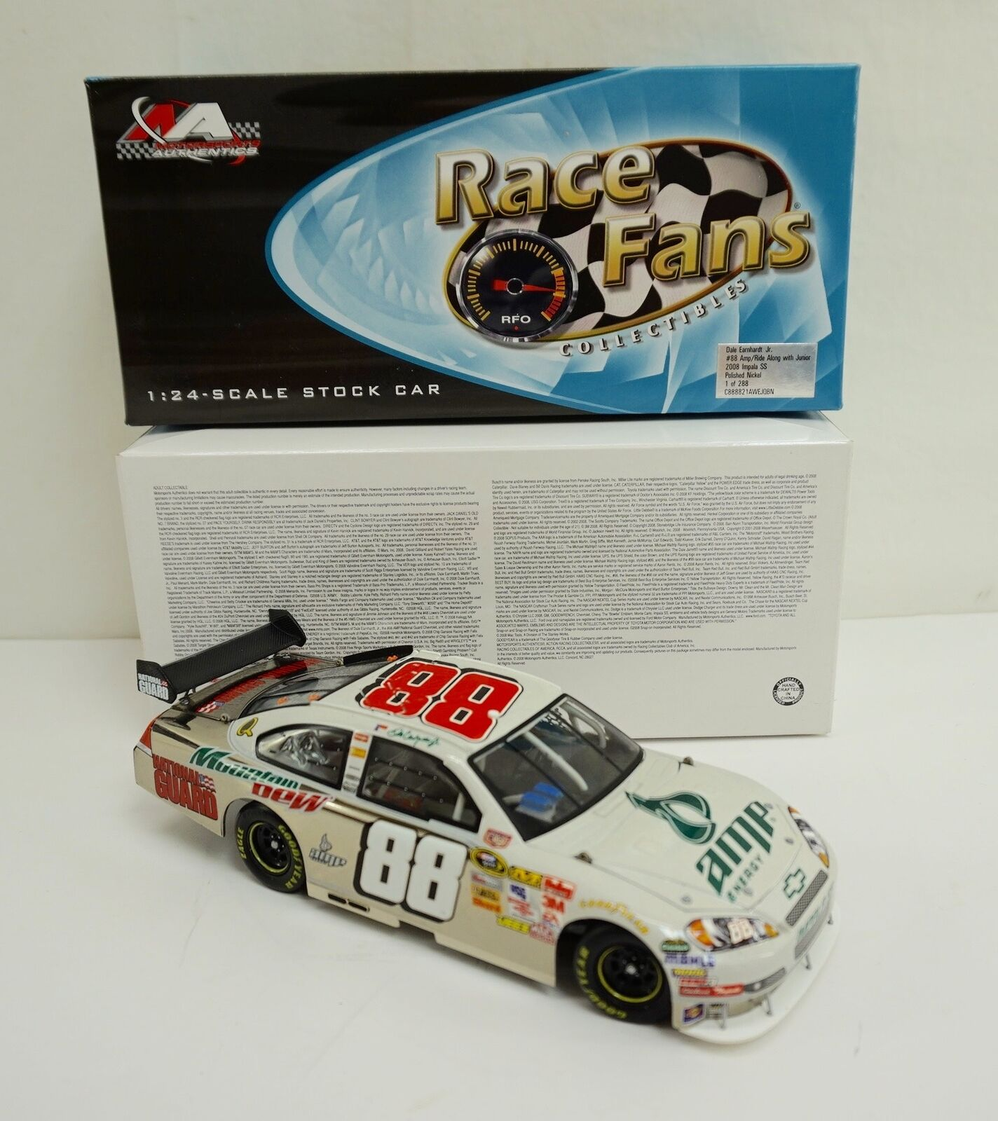 marca en liquidación de venta 2008 ARC QVC Diecast  Dale Dale Dale Earnhardt Jr  88 AMP Ride Along With Junior Nickel  marcas en línea venta barata