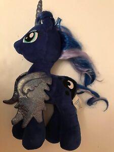 My-Little-Pony-Build-a-Bear-PRINCESS-LUNA-Plush-Blue-Unicorn-Glitter-Wings