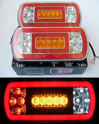 10x24v Led White Side Marker Light Fits for Mitsubishi Fuso Canter Universal Van