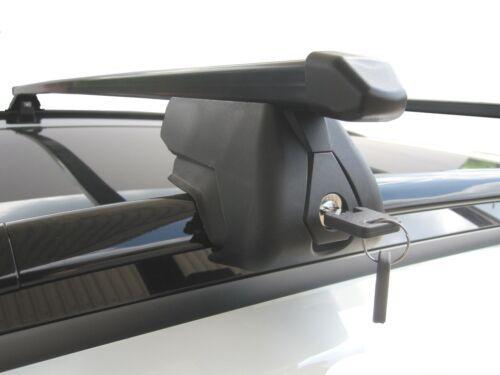 Roof Rack Rail Bars Lockable Skoda Roomster 2006 onwards