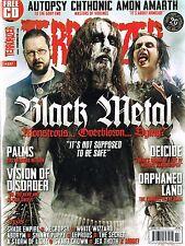 TERRORIZER #237 Black Metal AUTOPSY Chthonic AMON AMARTH Orphaned Land @NEW@