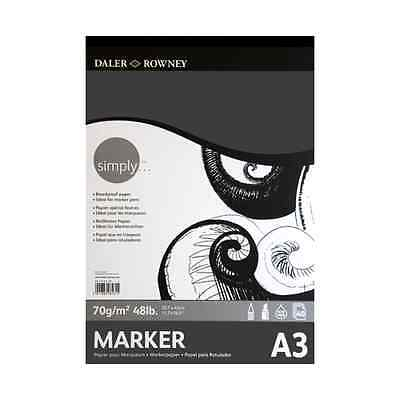 Daler Rowney Simply Marker Pad - A3