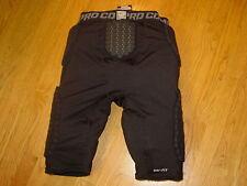 Mens 3xl Dri Fit Nike Pro Combat Padded Compression Shorts Football xxxl Black