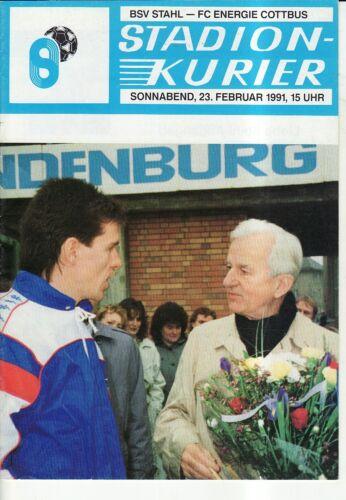 FC Energie Cottbus OL 90//91  BSV Stahl Brandenburg