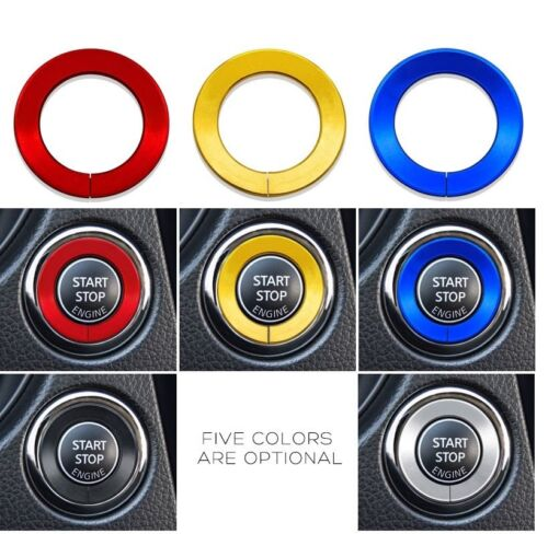 Nissan Qashqai X-Trail Vehicle Engine Start Stop Ignition Ring Sticker Decal