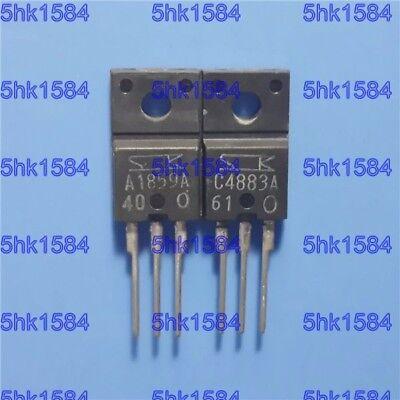 5pairs or 10PCS Transistor SANKEN TO-220F 2SA1859A//2SC4883A A1859A//C4883A