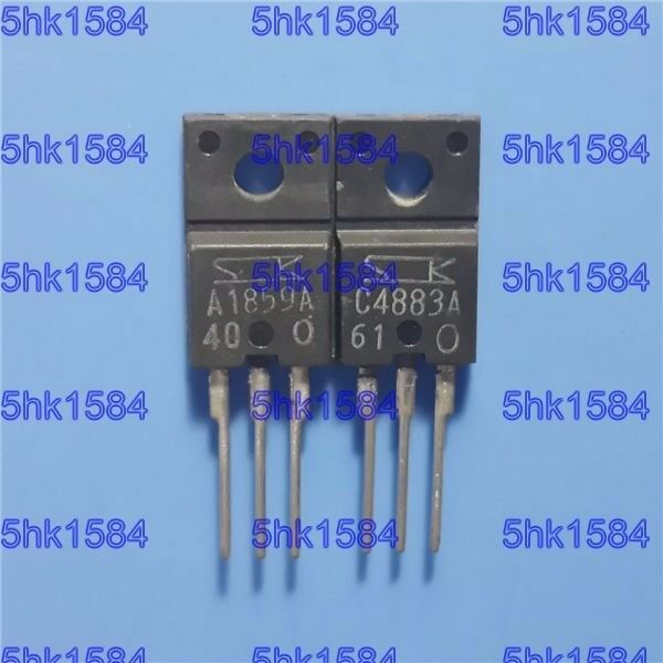 Transistor TO220F A1859 C4883 1Pair 2SA1859A 2SC4883A