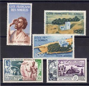 Valore-Somali-Serie-Completa-5-Francobolli-P-A-Nuovo-Ytn-20-24-Valore