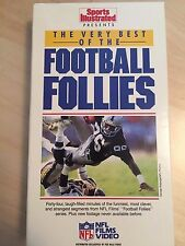SPORT ILLUSTRATED VIDEO: THE VERY BEST OF THE FOOTBALL FOLLIES VHS (1988)
