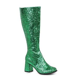 Ellie-GOGO-G-Green-Glitter-3-inch-Heel-Glitter-Gogo-Boot-W-Zipper