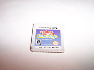 Details About Cooking Mama 4 Kitchen Magic Nintendo 3ds Xl 2ds Game
