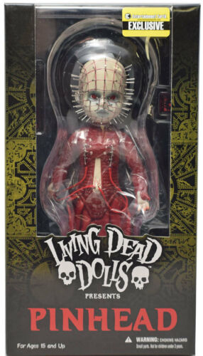 Mezco EE Exclusive Living Dead Dolls Hellraiser Pinhead Red Variant