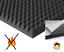 Pyramiden-Schaumstoff-SELBSTKLEBEND-Dammung-Akustik-Schallschutz-Flammhemend-PC miniatura 1