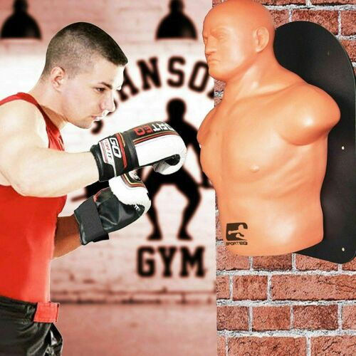 SportEQ Bob XL Wall Mounted Dummy Boxing Punch bagMMA Martial Arts Torso Pad