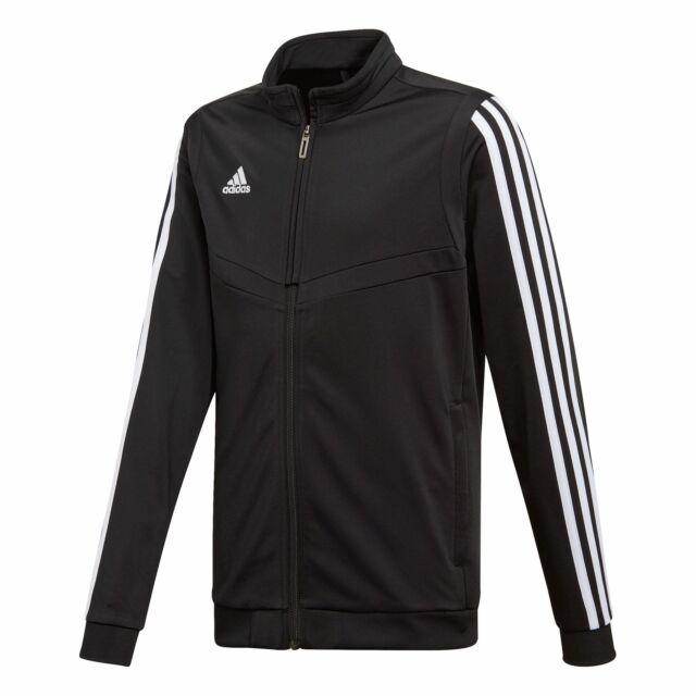 Adidas Tiro 19 Polyesterjacke Herren schwarz weiß NEU