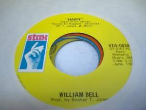 Soul-45-WILLIAM-BELL-Happy-on-Stax