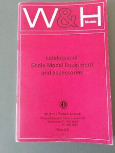 W&h Models Catalogue Of Scale Model Equipment And Accessories MatéRiaux Soigneusement SéLectionnéS
