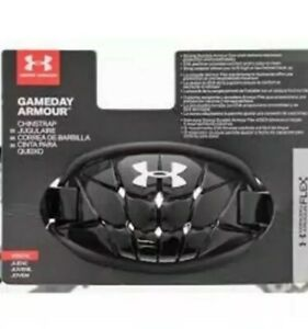 Under Armour Gameday Armour Pro Chin Strap Mens Black Brand New $25