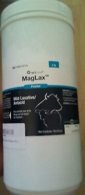 Vetone Maglax Mild Laxative/antacid Powder 1lb. Animal Health & Veterinary Business & Industrial