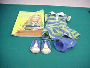 American Girl Lanie meet outfit dress shoes panties EUC 18 inch