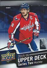 2015-16 Upper Deck Series 2 Hockey complete UR Set U-pick 20 cards STARS incl!.