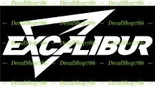 - Outdoor//Hunting Vinyl Die-Cut Peel N/' Stick Decal Excalibur Crossbows Text