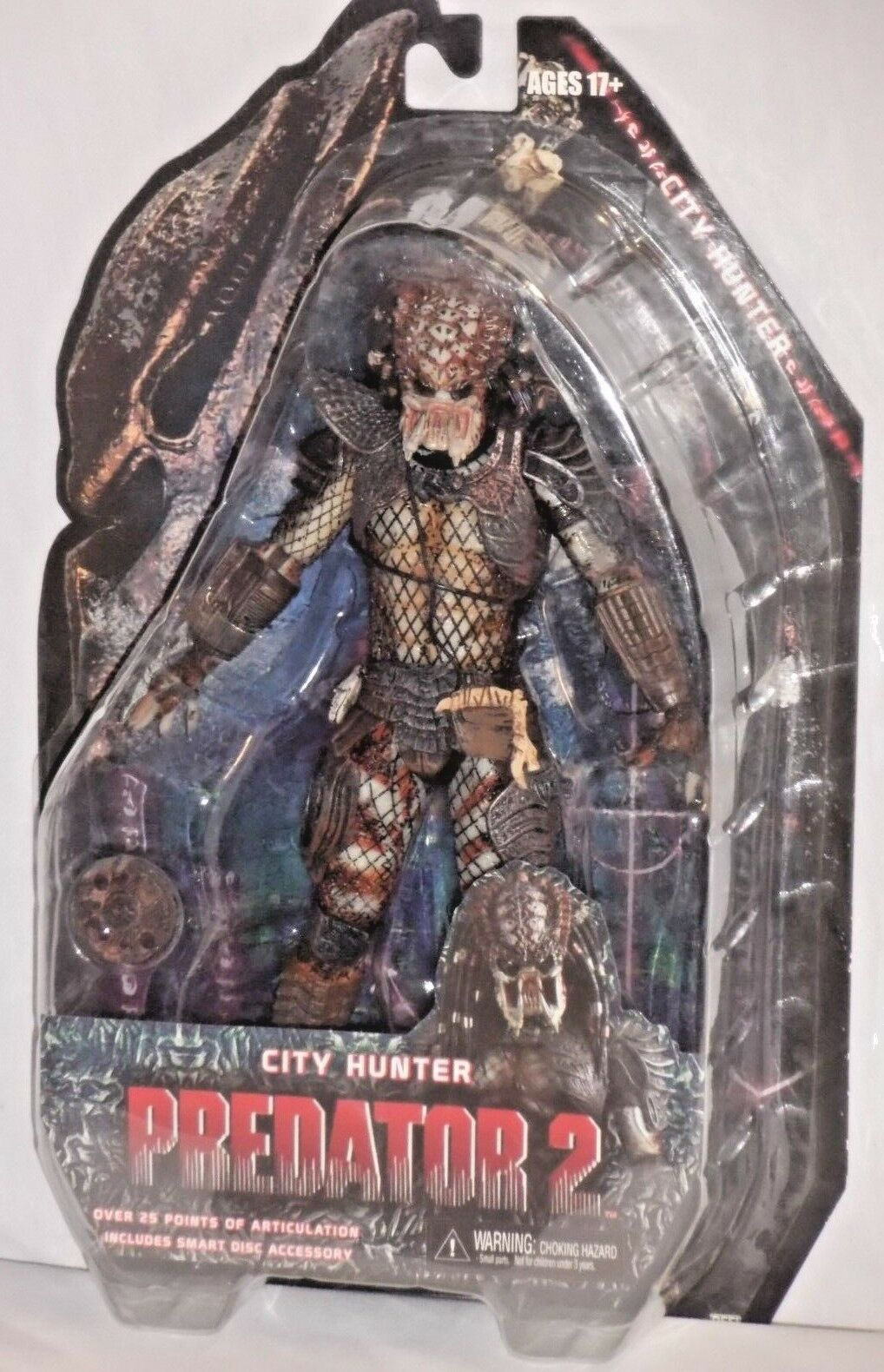 NECA PROTATOR 2 Series 4 UNMASKED CITY HUNTER cult horror movie 7