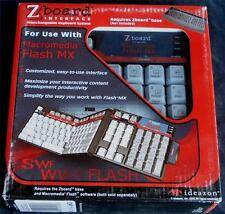 Ideazon / SteelSeries ZBoard Macromedia Flash Keyset - BRAND NEW