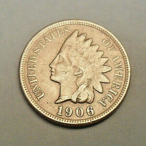 DAMAGED*  **FREE SHIPPING** 1885 P Indian Head Cent Penny  *XF DETAILS