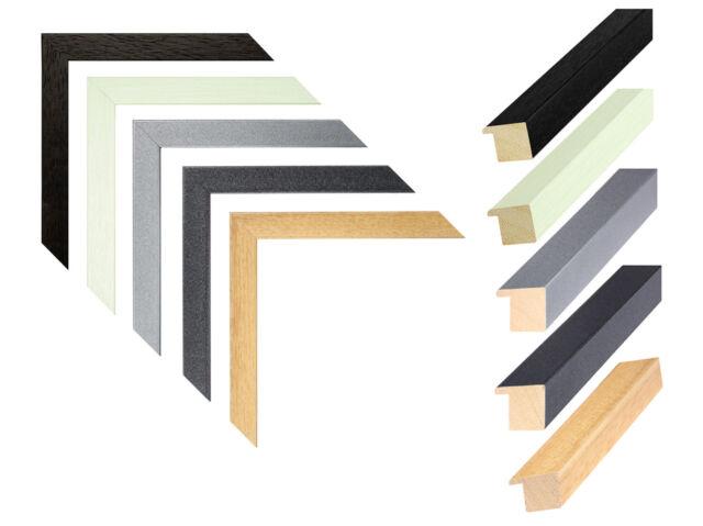 Deknudt Galerierahmen mit Doppelpassepartout für 4 Bilder 10x15 cm  Multirahmen
