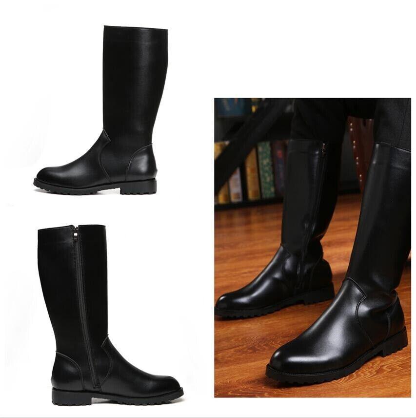 Herren Damen Militär Stiefel Formell 35-46 Schuhe Alle Jahreszeiten Cosplay Stiefel
