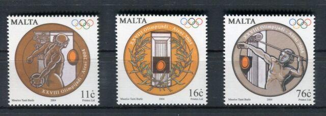 Malta 2004 Giochi Olimpici Atene 2004 MNH