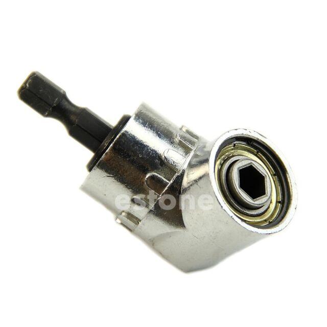 """1/4""""  105 degrees Adjustable Hex bit Angle Driver Screwdriver tools"""
